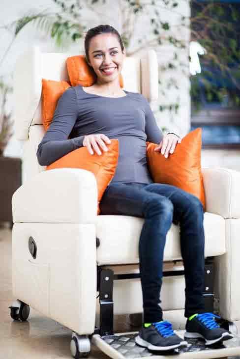 kranich ATP-Kissen für das stabile Sitzen