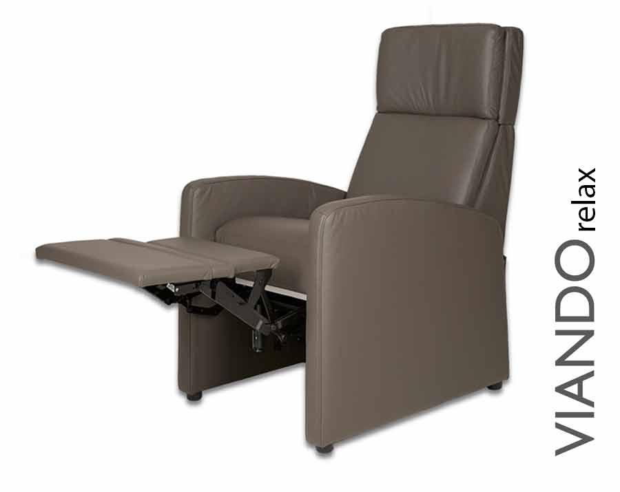 VIANDOrelax, der Ruhesessel, Patienten-Sessel auch für den klinischen Einsatz (z.B. Onkologie)
