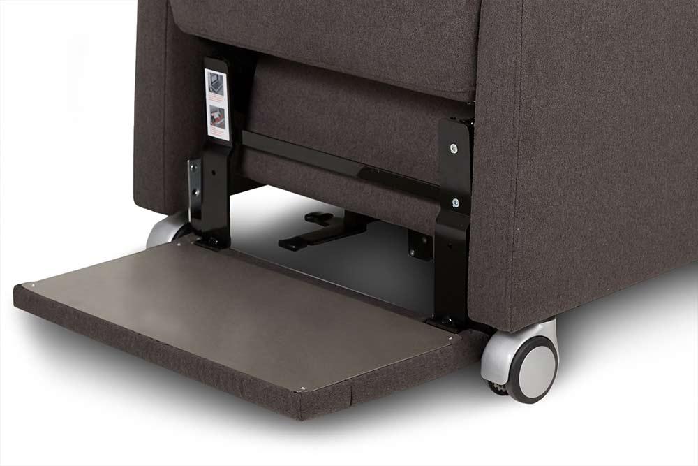 Die klappbare Fußauflage für ermüdungsfreie Mobilität