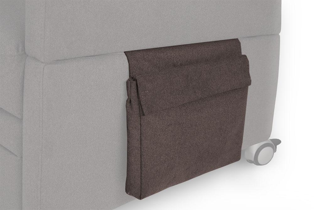 Seitliche Utensilien-Tasche für den VIANDOpflege / Pflegesessel