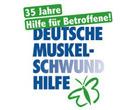Logo der Muskelschwund Hilfe - Referenz für den VIANDO+ Pflegesessel