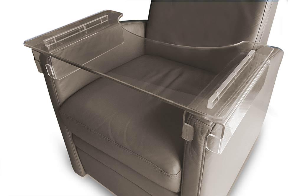 VIANDOrelax, Tablett-Tisch am Relaxsessel / Ruhesessel / TV-Sessel