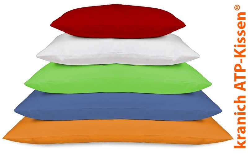 kranich ATP-Kissen® Positionierungs-Kissen / Lagerungskissen in farbigen Kissen-Bezügen