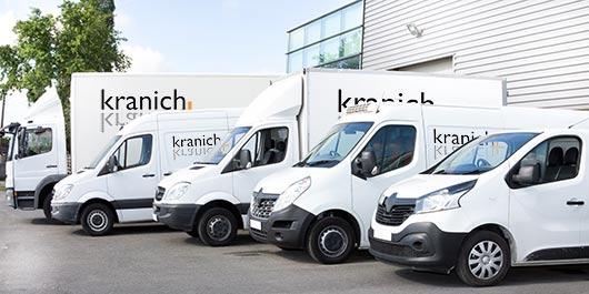 KRANICHcare Produkte / kranich ATP-Kissen® und Pflegesessel VIANDOpflege® Auslieferung europaweit