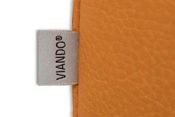 Pflegesessel VIANDOpflege® Logo, eingetragene Marke der KRANICHconcept GmbH