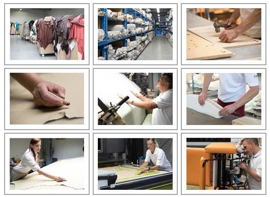 Produktion des Pflegesessel VIANDOpflege. Einblick in den Ablauf der Herstellung in Deutschland