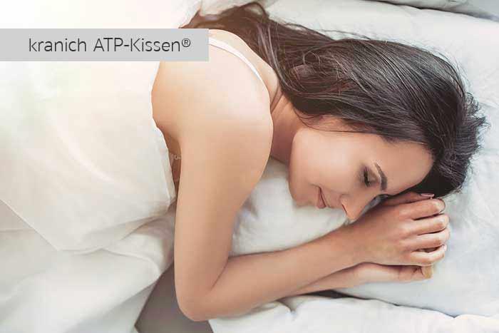 Allergikerfreundliche, ergononisch stützende Kissen: kranich-ATP-Kissen®