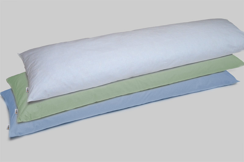 Lagerungskissen, kranich-ATP-Kissen, Größe 40 cm x 140 cm - zur Positionierung, waschbar bei 95°C