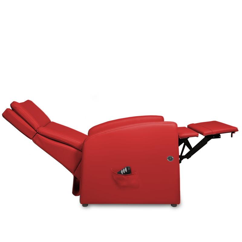 Sessel für Herz-Waage-Lage (0-Lage= mit der extra-langen Beinauflage
