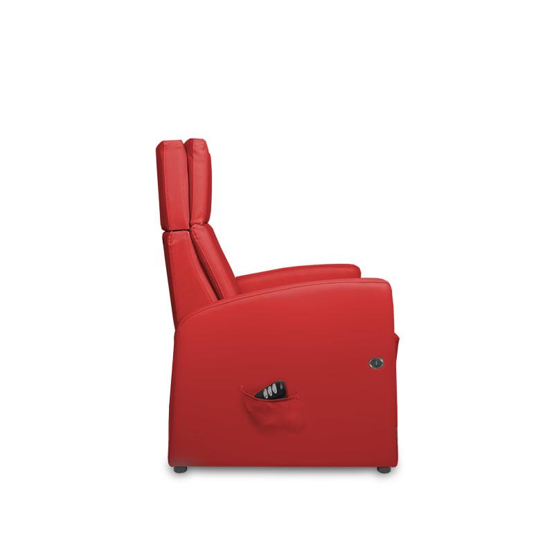 Sessel / Sitz mit einer Aufstehhilfe mit einem Motor (elektrisch)