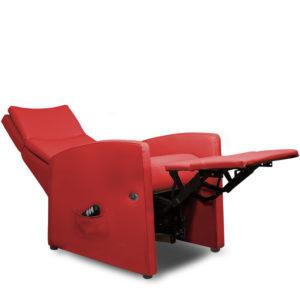 Sessel / Aufstehstuhl mit Liegefunktion und motorischer Aufstehhilfe