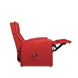 Sitz mit Aufstehhilfe für die geschwächte Muskulatur mit motorischem Antrieb