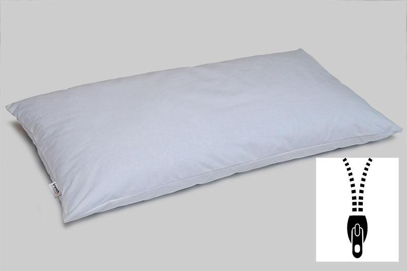 kranich ATP-Kissen, Kissen für Objektbereich / weiss / privat-40 cm x 80 cm / mit Reißverschluss