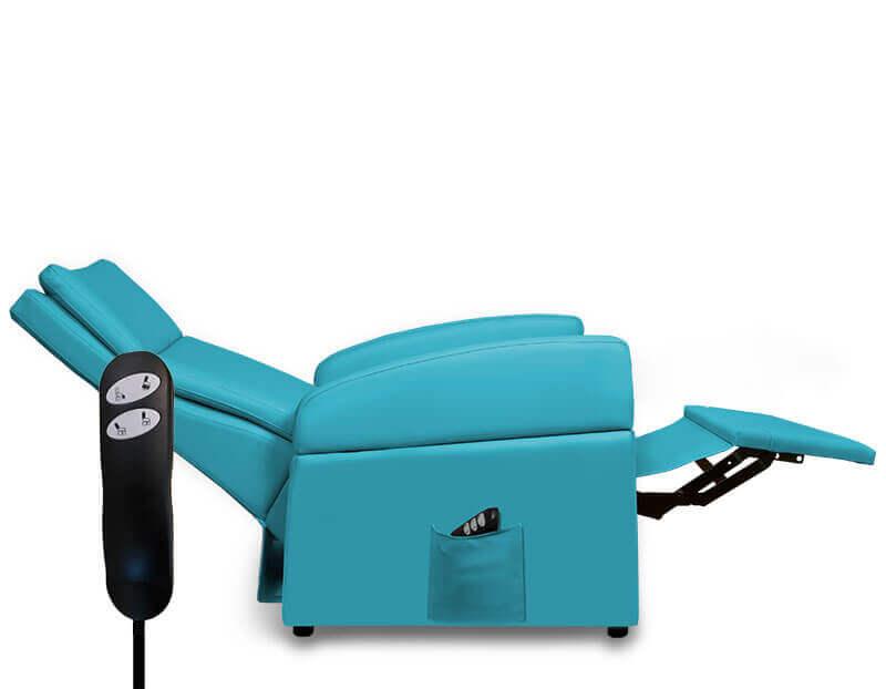 Seniorensessel (für Menschen bis 200 kg Körpergewicht - XXL) in Liegeposition 0-Lage