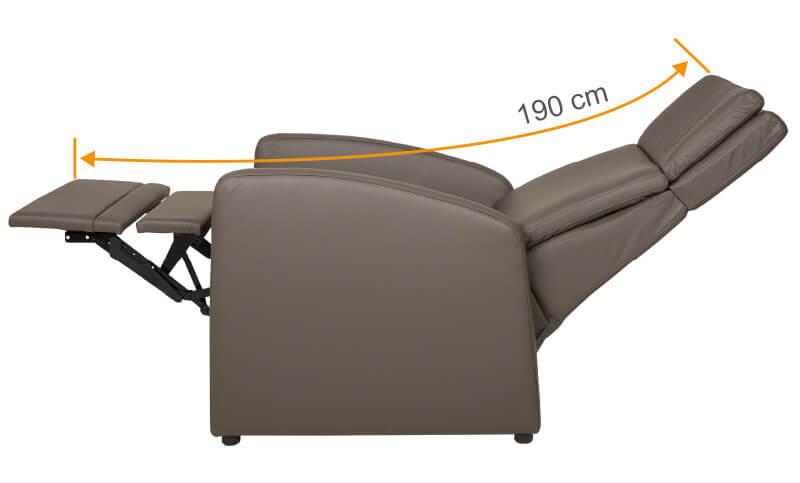 Seniorensessel / Sessel für ältere Menschen mit elektrischer Aufstehhilfe und Beinauflage für Seniorenheime / Senioreneinrichtungen
