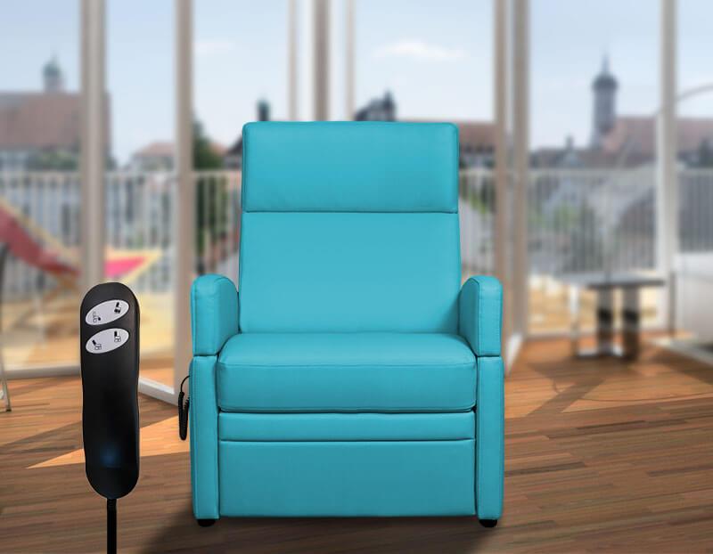 VIANDOpflege XL, der Pflegesessels (XXL-Sessel) für Menschen mit Übergewicht bis 200 kg