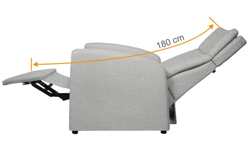 VIANDO-XXL-Sessel für Schwergewichtige Patienten / Körperbehinderte, Pflegefälle