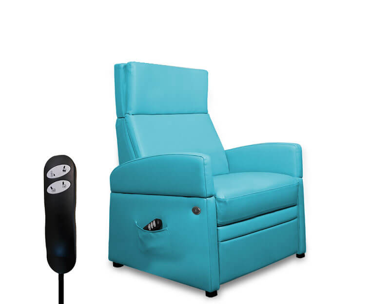 XXL-Reha-Sessel / Sessel-für Senioren mit höherem Koerpergewicht. Mit mit elektrischer Aufstehhilfe