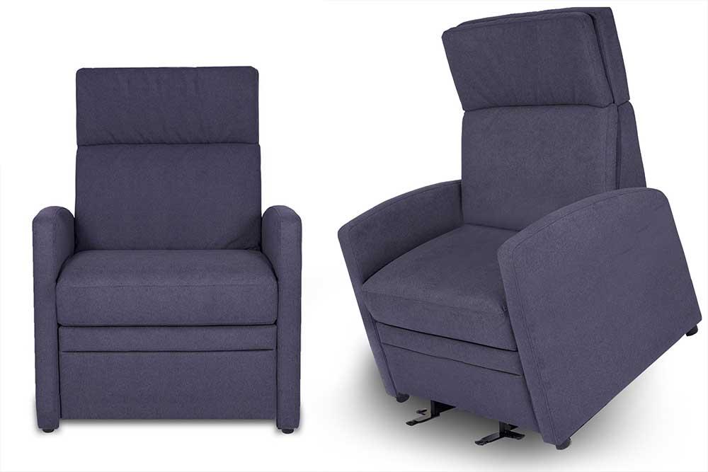 XXL Aufstehsessel VIANDOlift-XL (für Menschen mit Körpergewicht bis 200 Kg) mit einer Sitzbreite von 70 cm und motorische-Verstellbarkeit / Aufstehhilfe