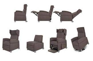 Sessel für Behinderte: Funktionen in Fotos und Videos